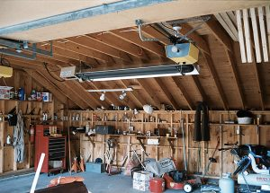 residential garage con heater