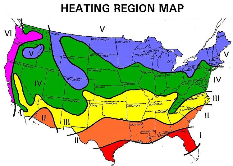 us heat map