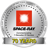 Spaceray 70 years